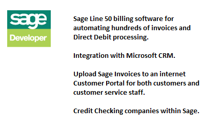 Sage 50 Billing and Invoicing Solutions