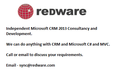 Independent Microsoft CRM 2013 Consultancy